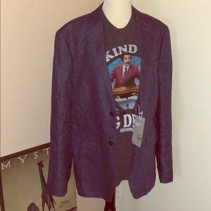 H&Ms Men's Linen Blazer size 44R